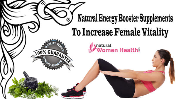 Natural Energy Enhancer Booster Pills